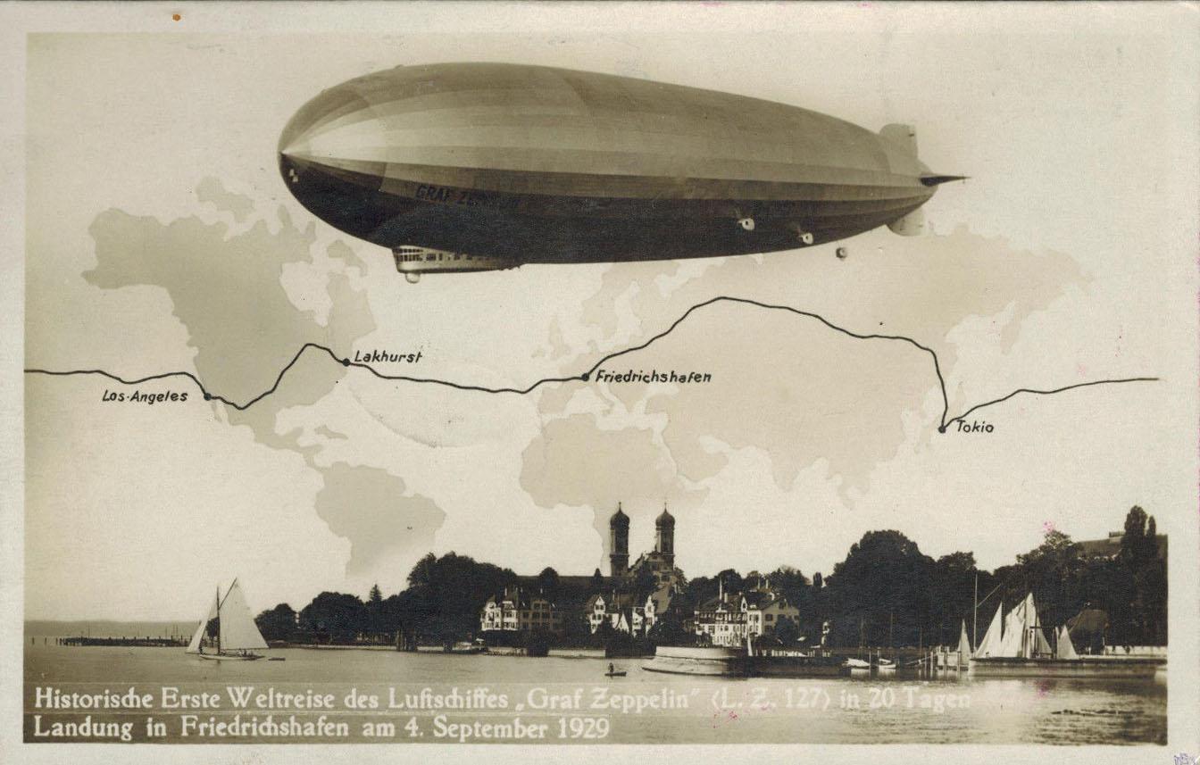 Kliknite za sliku za veću verziju  Ime:LZ_127_Graf_Zeppelin_over_world.jpg Viđeno:118 Veličina:154,3 KB ID:149247