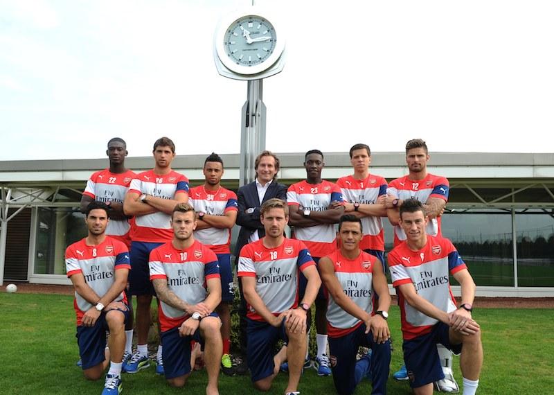 Naziv: JEANRICHARD&Arsenal_Team.jpg, pregleda: 87, veličina: 113,2 KB