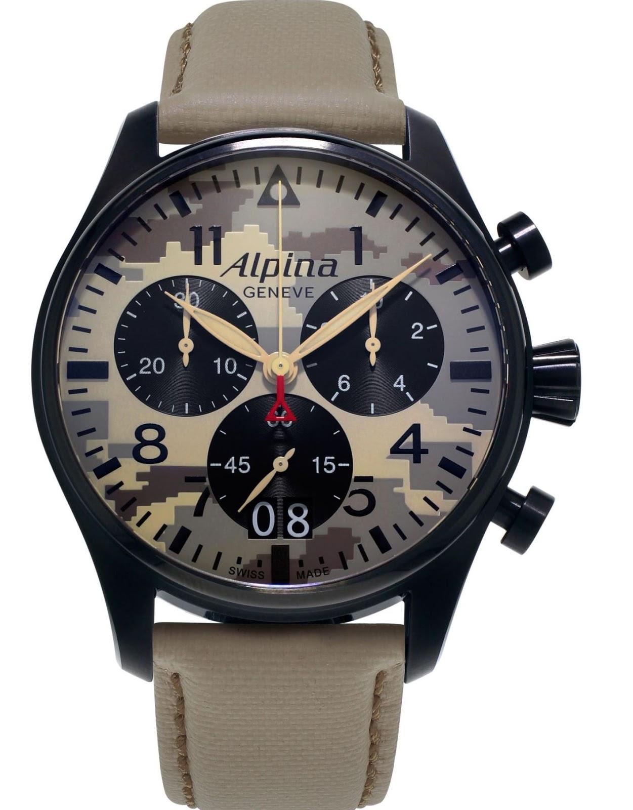 Naziv: 3Alpina Startimer Camouflage Pilot Big Date Chronograph 3.jpg, pregleda: 307, veličina: 212,0 KB