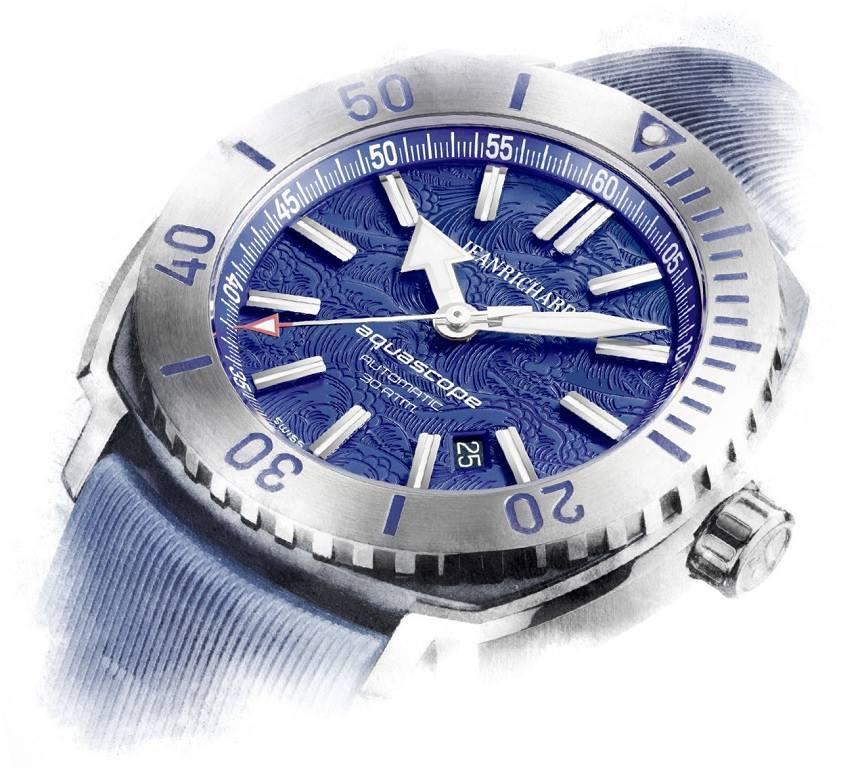 "Naziv: JEANRICHARD Watches Aquascope Watch With Hokusai ""The Great Wave Off Kanagawa"" Japan.jpg, pregleda: 53, veličina: 93,0 KB"
