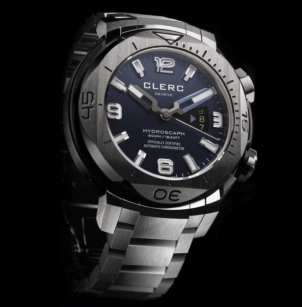 Naziv: Clerc-Hydroscaph-H1-Chronometer-metal-bracelet-watches-3.jpg, pregleda: 120, veličina: 147,6 KB
