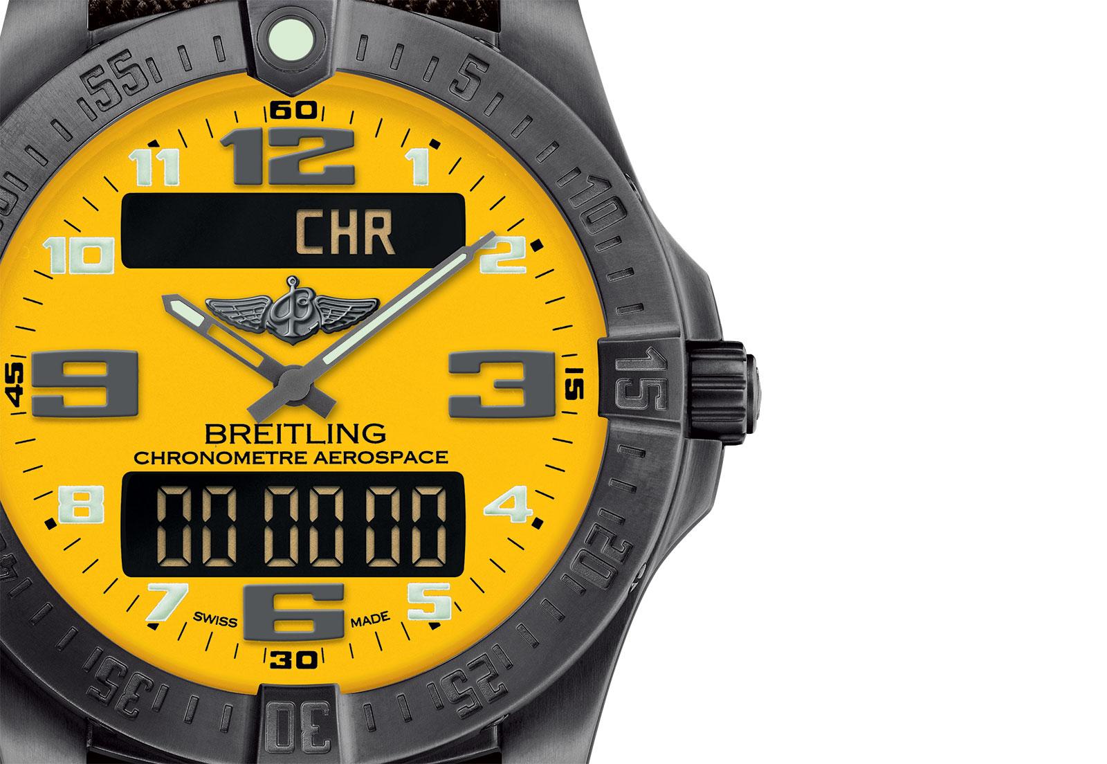Naziv: Breitling Aerospace Evo Night Mission Yellow 1.jpg, pregleda: 343, veličina: 266,6 KB