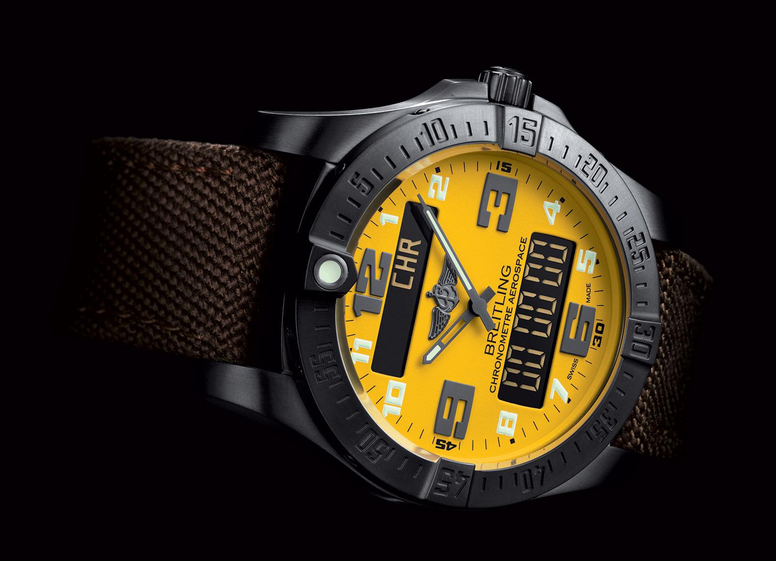 Naziv: Breitling Aerospace Evo Night Mission Yellow 2.jpg, pregleda: 304, veličina: 223,6 KB