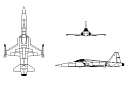 """Breitling Chronomat 44 GMT """"Patrouille Suisse 50th Anniversary"""" satovi-northrop_f-5_freedom_fighter-tiger_ii.png"""