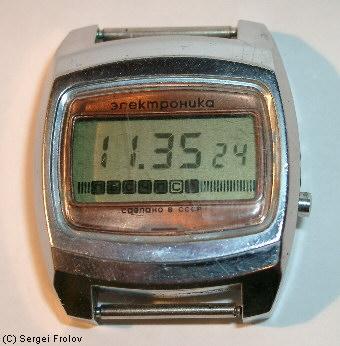 часы наручные Электроника 5. Электронные наручные часы СССР, электроника 5, электроника 5-204