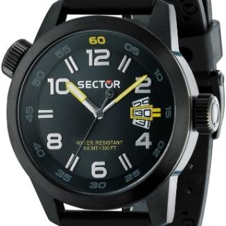 Sat Sector Extension Oversize Chrono Black | Svet Satova